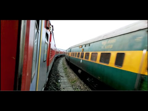Dharmavaram-Vijayawada express journey compilation|| Mini Rajdhani express