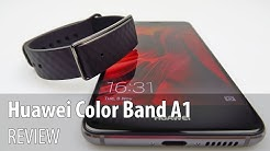Huawei Color Band A1/ HONOR Band A1 Review (Affordable fitness tracker with UV sensor)