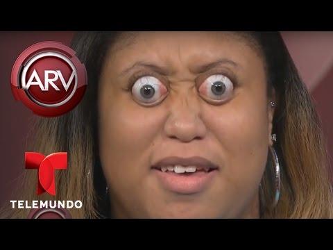 La mujer con los ojos más saltones del mundo muestra su habilidad | Al Rojo Vivo | Telemundo