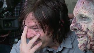 مقالب نورمان ريداس (داريل) & آندرو لينكولن (ريك) 5 | الموتى السائرون | Walking Dead