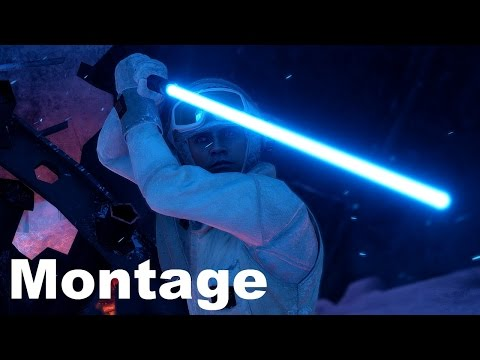Luke Skywalker Montage - A Jedi Knight - Star Wars Battlefront
