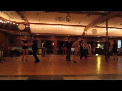 Gabriel Robins dancing Salsa / Tango with Katherine