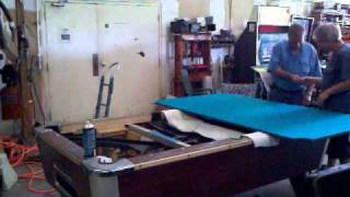 pool table recover