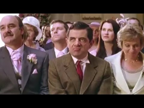 One Wedding and a Funeral   Funny Clip   Classic Mr Bean