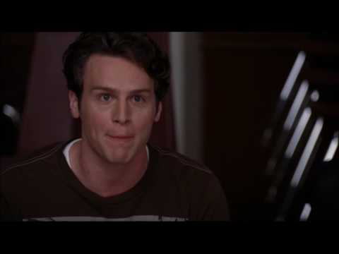 Glee - Jesse, Finn and Puck react to 'Run Joey Run' 1x17