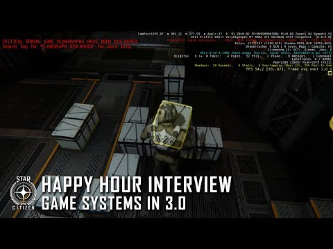 Star Citizen: Happy Hour Interview - Game Systems in 3.0