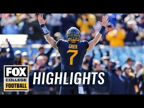 West Virginia vs. TCU | FOX COLLEGE FOOTBALL HIGHLIGHTS
