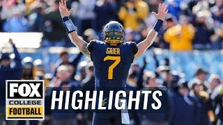 West Virginia vs. TCU | FOX COLLEGE FOOTBALL HIGHLIGHTS
