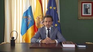 """Matos resalta al Parlamento de Canarias por ser """"vanguardia"""" europea"""