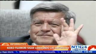 Keiko Fujimori sigue liderando las encuestas previas a las elecciones presidenciales del Perú