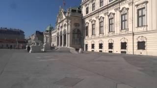 Австрия  Вена, Дворец Бельведер(, 2015-10-04T19:12:35.000Z)