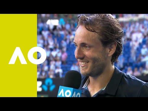 Lucas Pouille on-court interview (QF) | Australian Open 2019 Mp3
