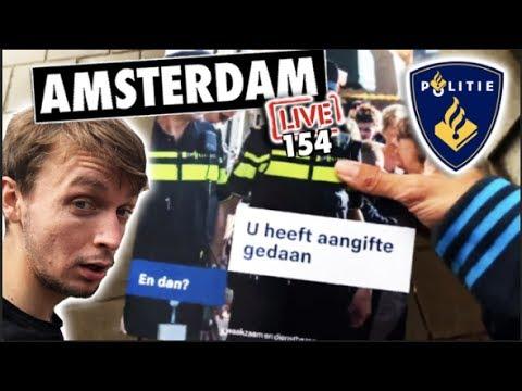 Amsterdam IRL (Going to Politie to Report FrankenBike as Stolen!) 😢