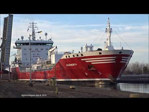 Ship FEDERAL CEDAR at Lock 1, Welland Canalиз YouTube · Длительность: 6 мин57 с