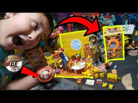 Best POKEMON Toys Ever! Opening An Entire Box Of MYSTERY Pikachu Living Room Stuff!! SUPRISE INSIDE!