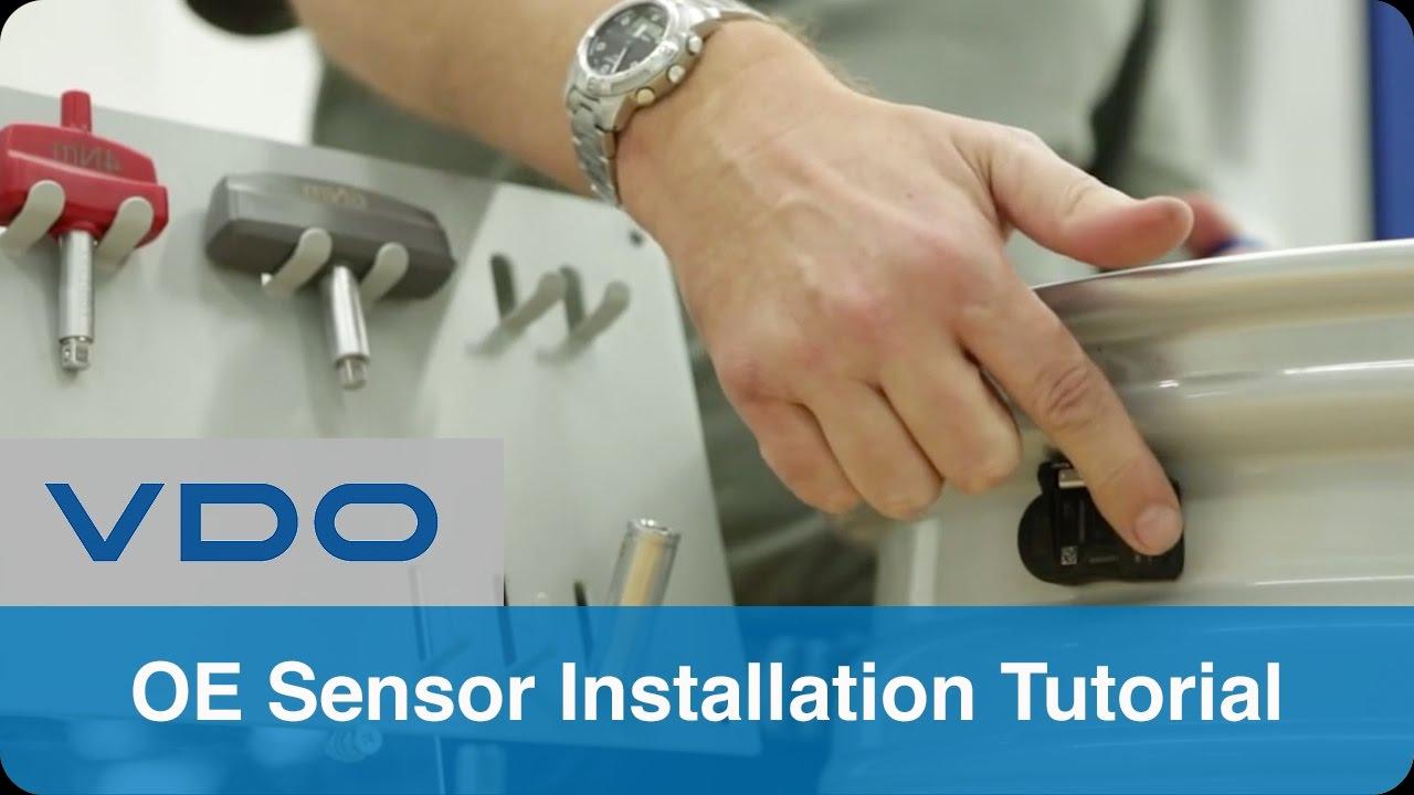 Tire Pressure Monitoring Sensor Installation Vdo Oe Youtube Wiring Instructions