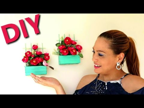 Diy idea para decorar pared facil bonito y economico - Decorar paredes facil ...