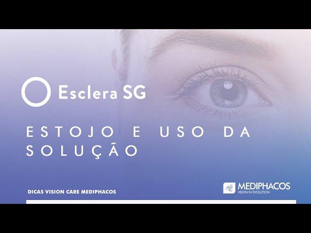 Dicas Vision Care - Estojo e uso da solução