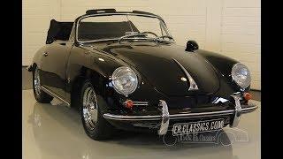 Porsche 356B T6 Cabriolet 1962 -VIDEO- www.ERclassics.com