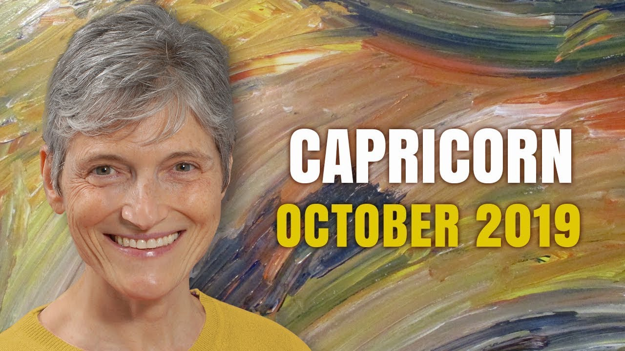 horoscope for capricorn october 25 2019