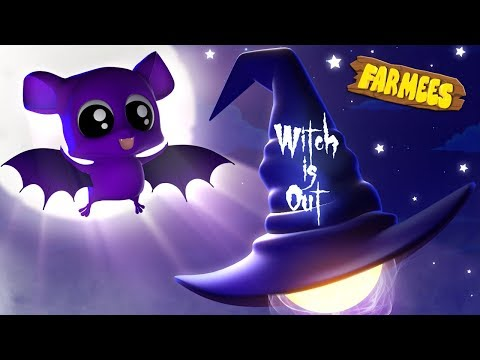 Witch is out | Halloween Nursery Rhymes For Children | Videos For Toddlers by Farmees