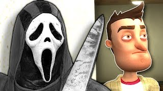 SCREAM SLASHER MYSTERY! - Garry's Mod Gameplay - Gmod Murder