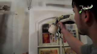 Nástřik Dveří - Spraying The Door, Wagner Flexio 585