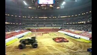 Monster Jam at Verizon Center Washington DC 01-27-2012