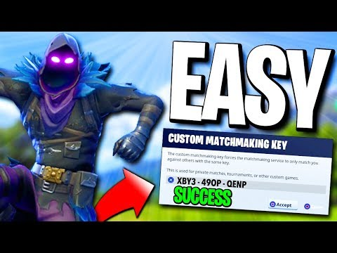 fortnite custom matchmaking supported keys