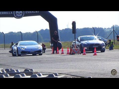 Lamborghini Huracan VS Nissan GTR VS Corvette Z06 VS Audi TT RS VS 911 Turbo