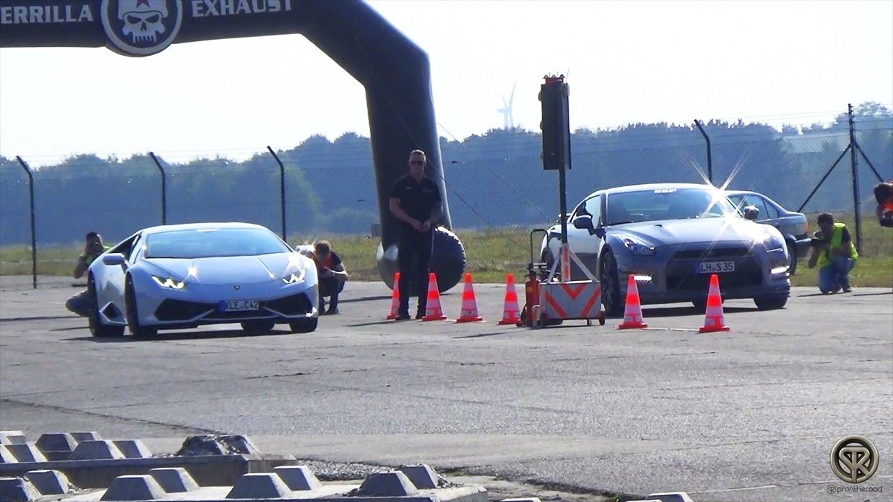 Lamborghini Huracan VS Nissan GTR VS Corvette Z06 VS Audi TT RS VS on lamborghini vs audi r8, lamborghini vs dodge viper, lamborghini vs nissan gt-r, lamborghini vs nissan skyline, lamborghini vs mclaren f1, lamborghini vs laferrari, lamborghini vs ford focus, lamborghini vs bugatti veyron super sport, lamborghini vs toyota supra, lamborghini vs hyundai elantra, lamborghini vs corvette, lamborghini vs porsche 911, lamborghini vs nissan 300zx, lamborghini vs mclaren p1,