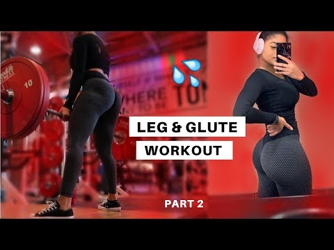 FULL LEG & GLUTE WORKOUT // BUILD MUSCLE PART 2