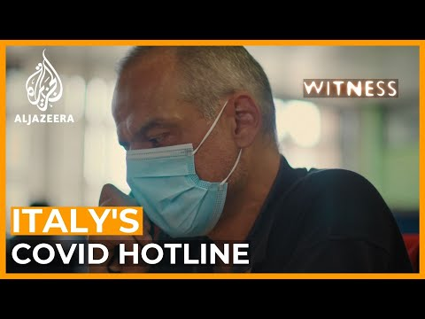 Italy's COVID Hotline: Inside A Pandemic Call Centre | Witness