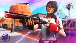*NEW* MAVEN SKIN SOLO WIN - Electra Fortnite Gameplay