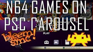 Proof of concept - Loading N64 games from PSC carousel | lolhack exploit