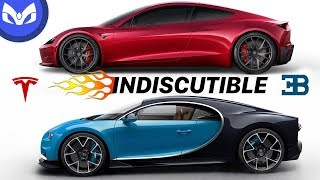 tesla vs bugatti veyron