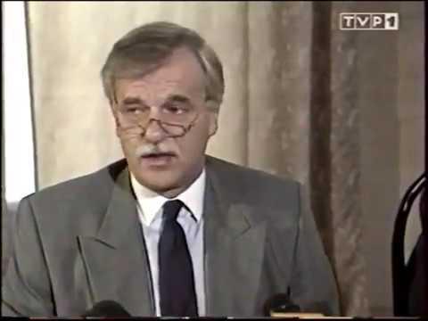 24.08.1994 Andrzej Olechowski o Marianie Zacharskim