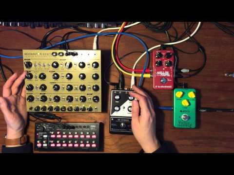 Boomstar SE80 & Moog MF Chorus