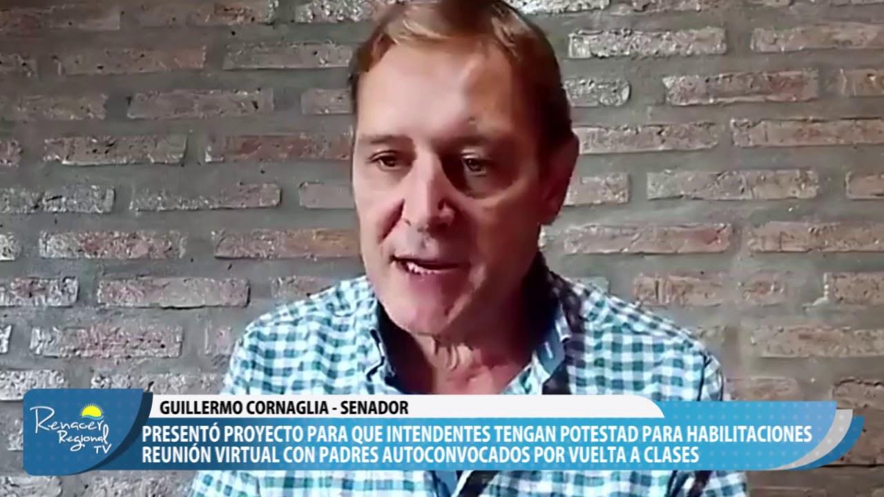 03-02-21 Nota Guillermo Cornaglia - Senador