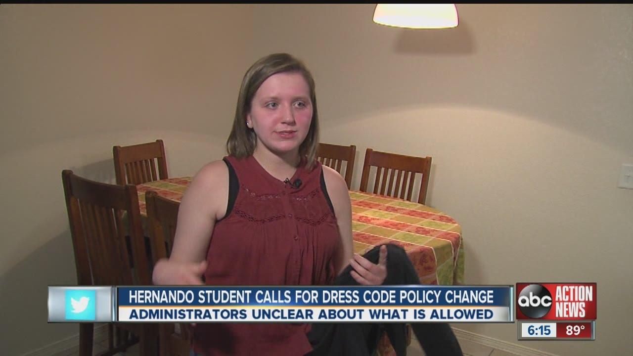 Hernando Student Given Warning For Wearing Sleeveless Shirt Under