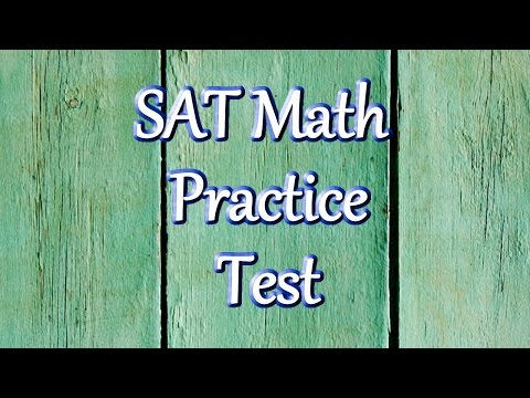 Best Free SAT Math Practice Test
