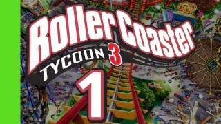 One of Flabaliki's most viewed videos: Let's Play Rollercoaster Tycoon 3 - Part 1