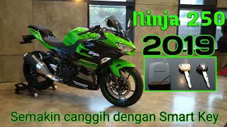 ninja 250 FI 2019 dengan Smart Key