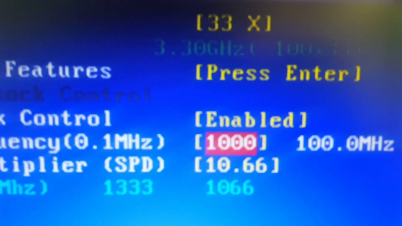 Overclock I3 2120 3 5Ghz Chipset H61