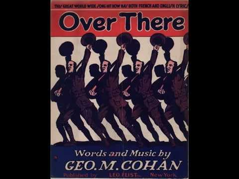 Over There -- the only studio recording made by George M. Cohan