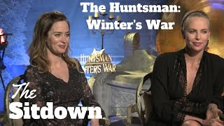 Charlize Theron + Emily Blunt on Strength + Becoming Queens for The Huntsman: Winter's War