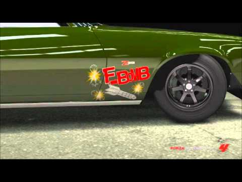 Forza 4 Design F Bomb Camaro YouTube