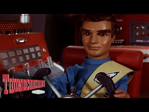 Virgil Drills The Actors To Safety - Thunderbirds