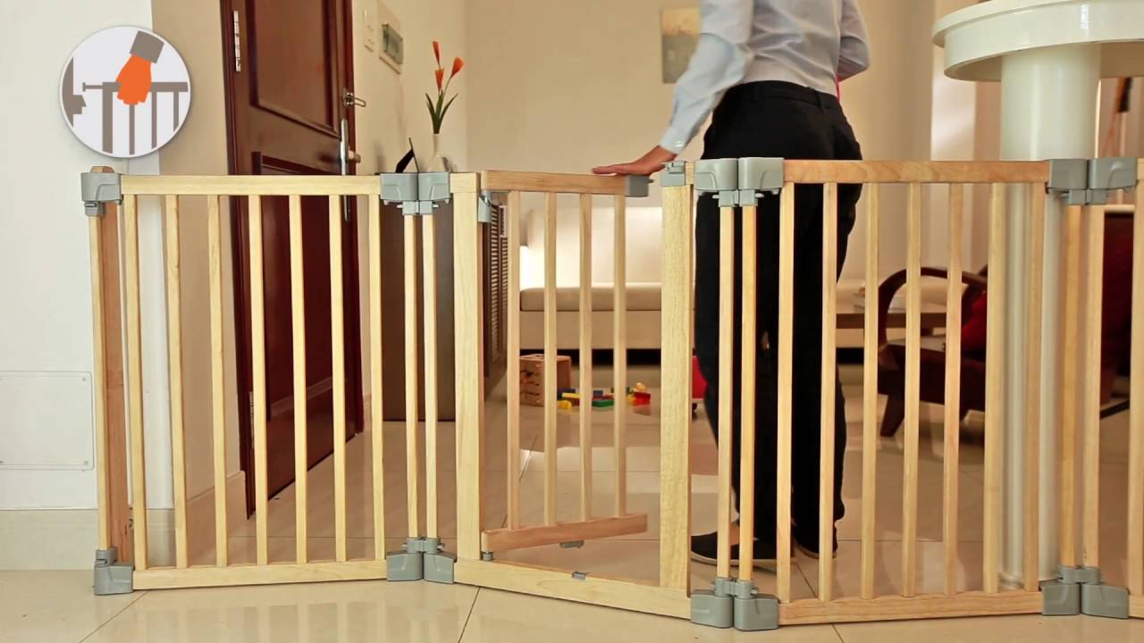 yoko wooden playpen room divider fire surrounder safety gate