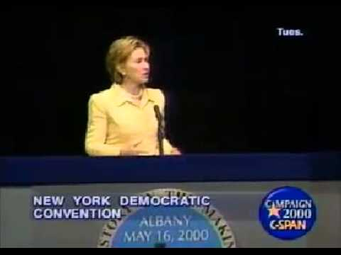 Hillary Clinton Acceptance Speech - NY State Democratic Convention (2000)
